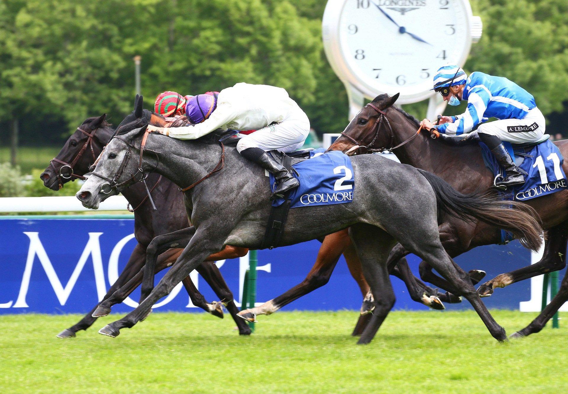 Incarville (Wootton Bassett) Wins The Group 1 Prix Saint Alary at ParisLongchamp