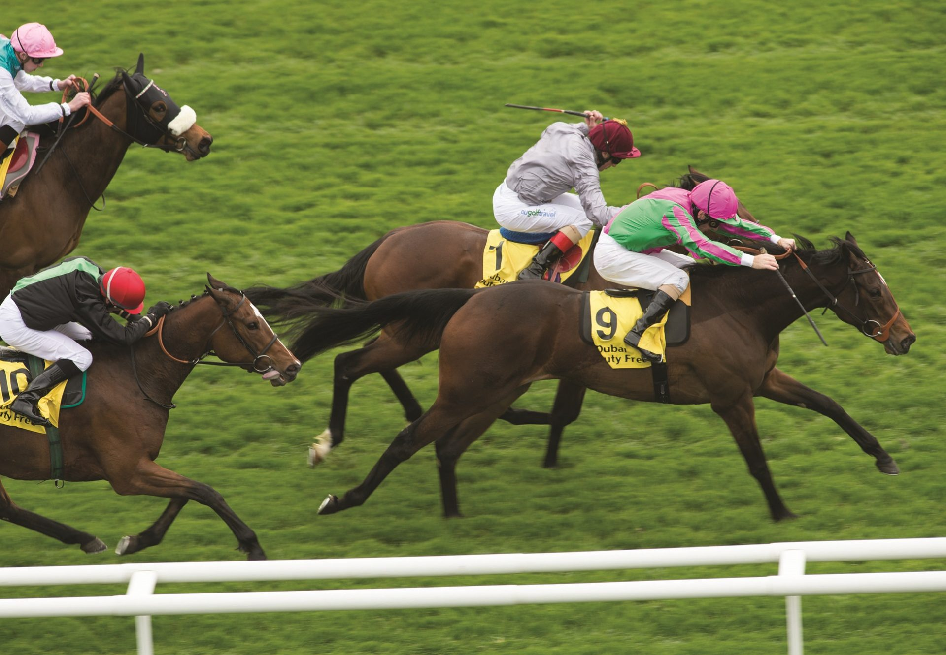 J Wonder (Footstepsinthesand) Winning The Fred Darling Stakes At Newbury