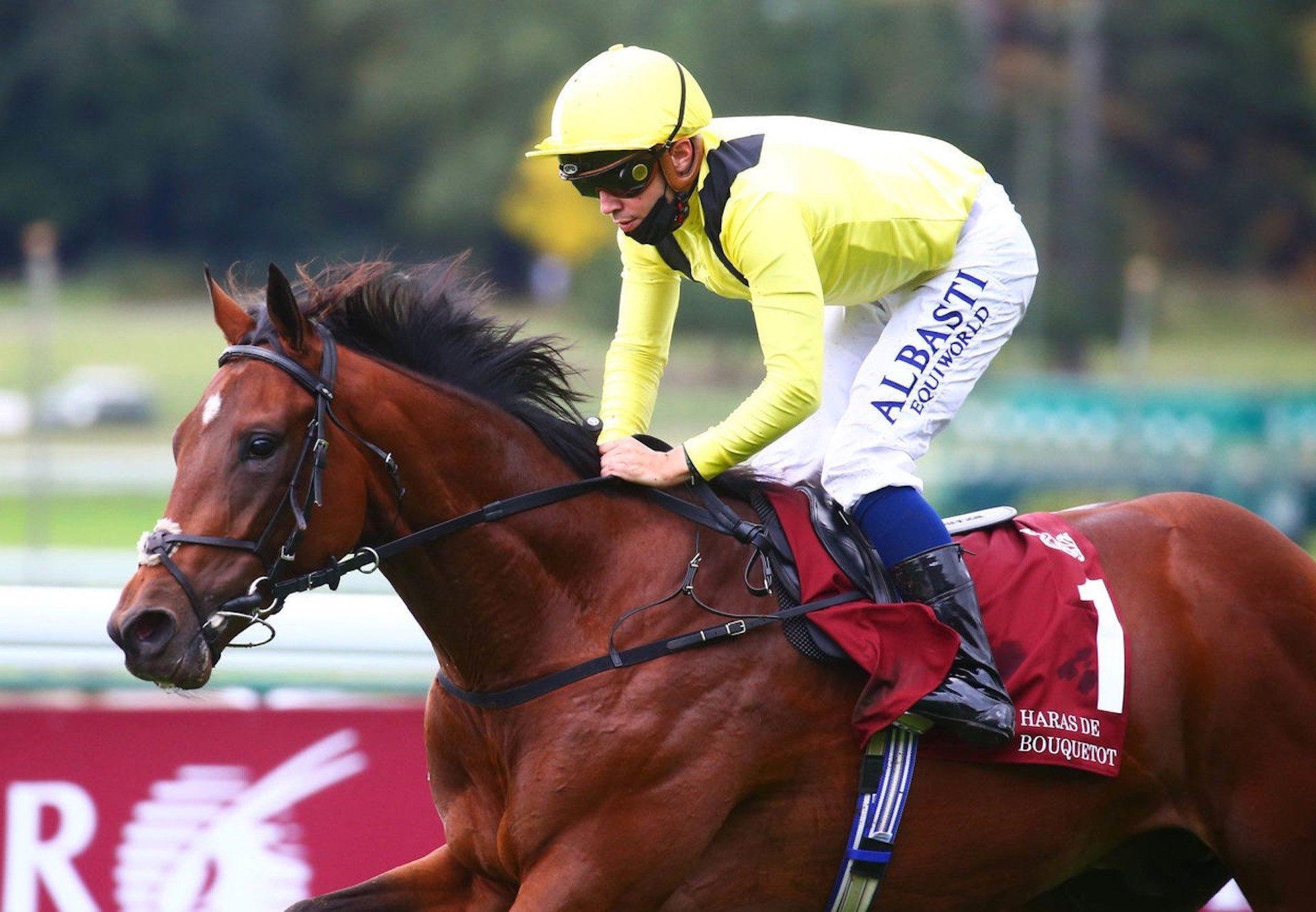 Jadoomi (Holy Roman Emperor) Wins At ParisLongchamp