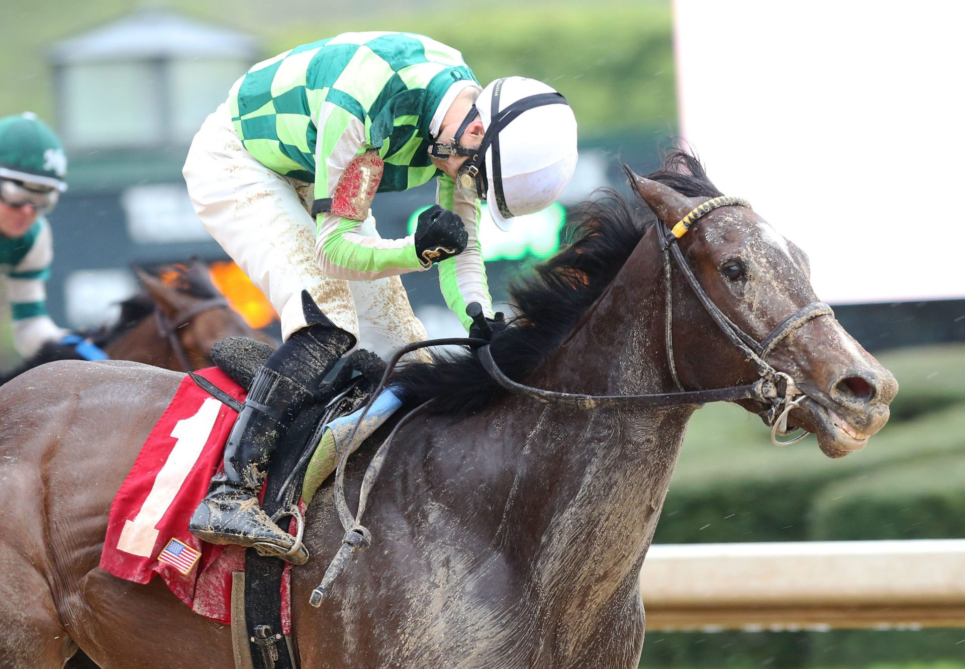 Kimari (Munnings) wins The Purple Martin Stakes at Oaklawn Park