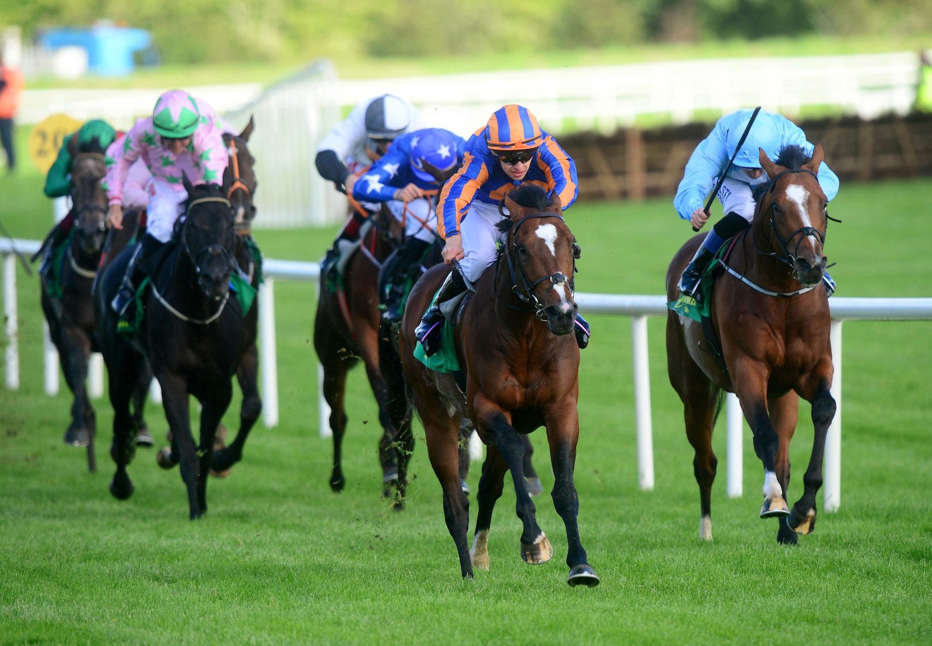 Lancaster House Wins The Listowel Stakes