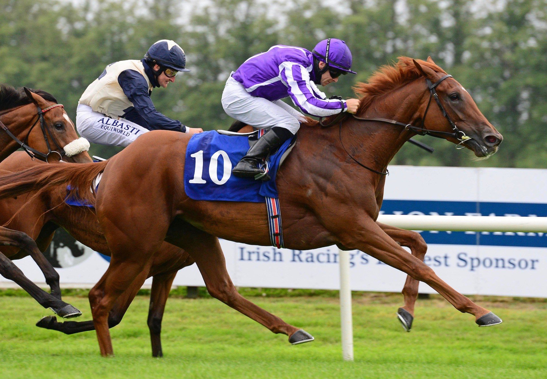 Lovelier (Galileo) Wins The Listed Cairn Rouge Stakes at Killarney