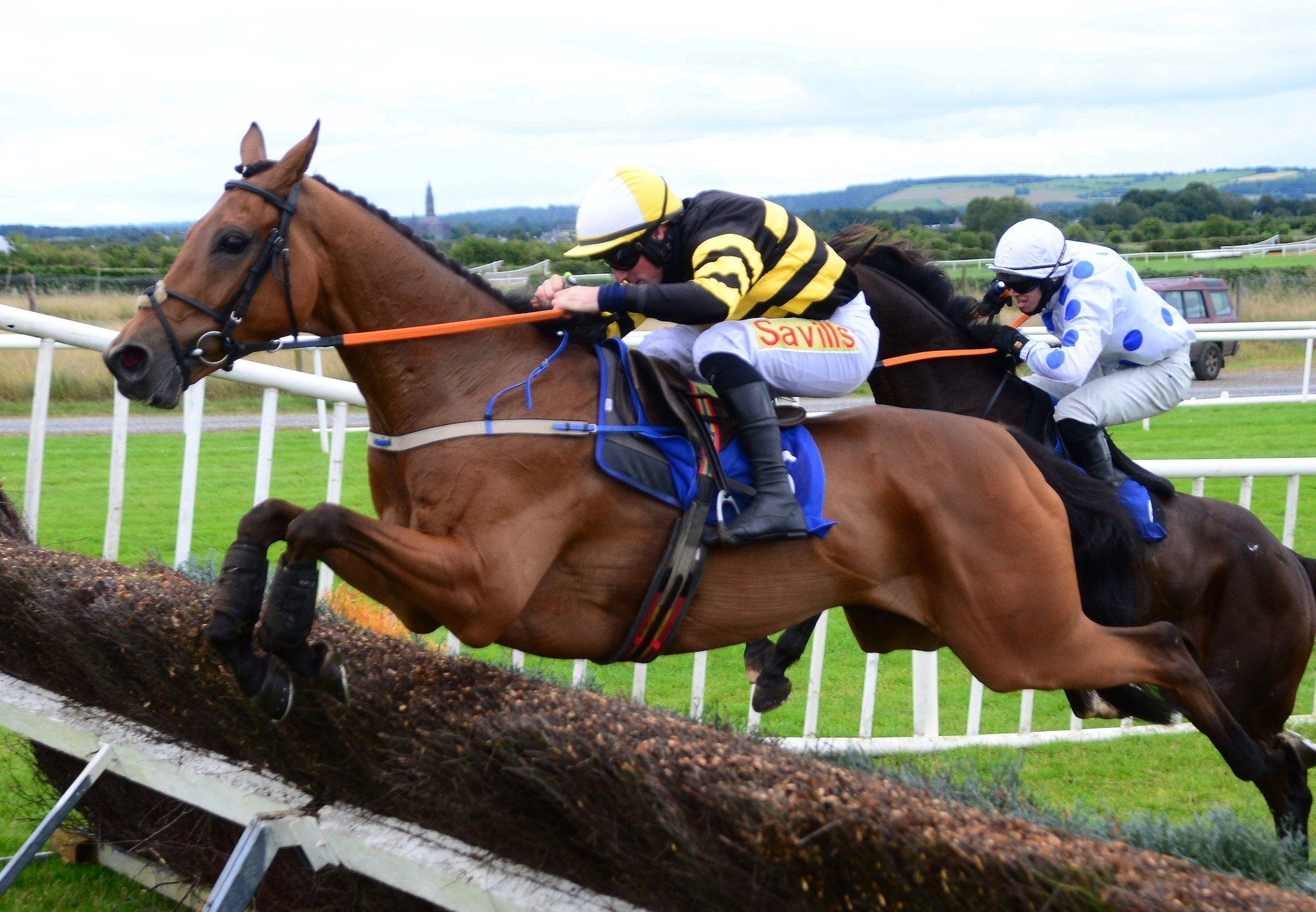Macgiloney (Milan) Wins The Beginners Chase At Roscommon