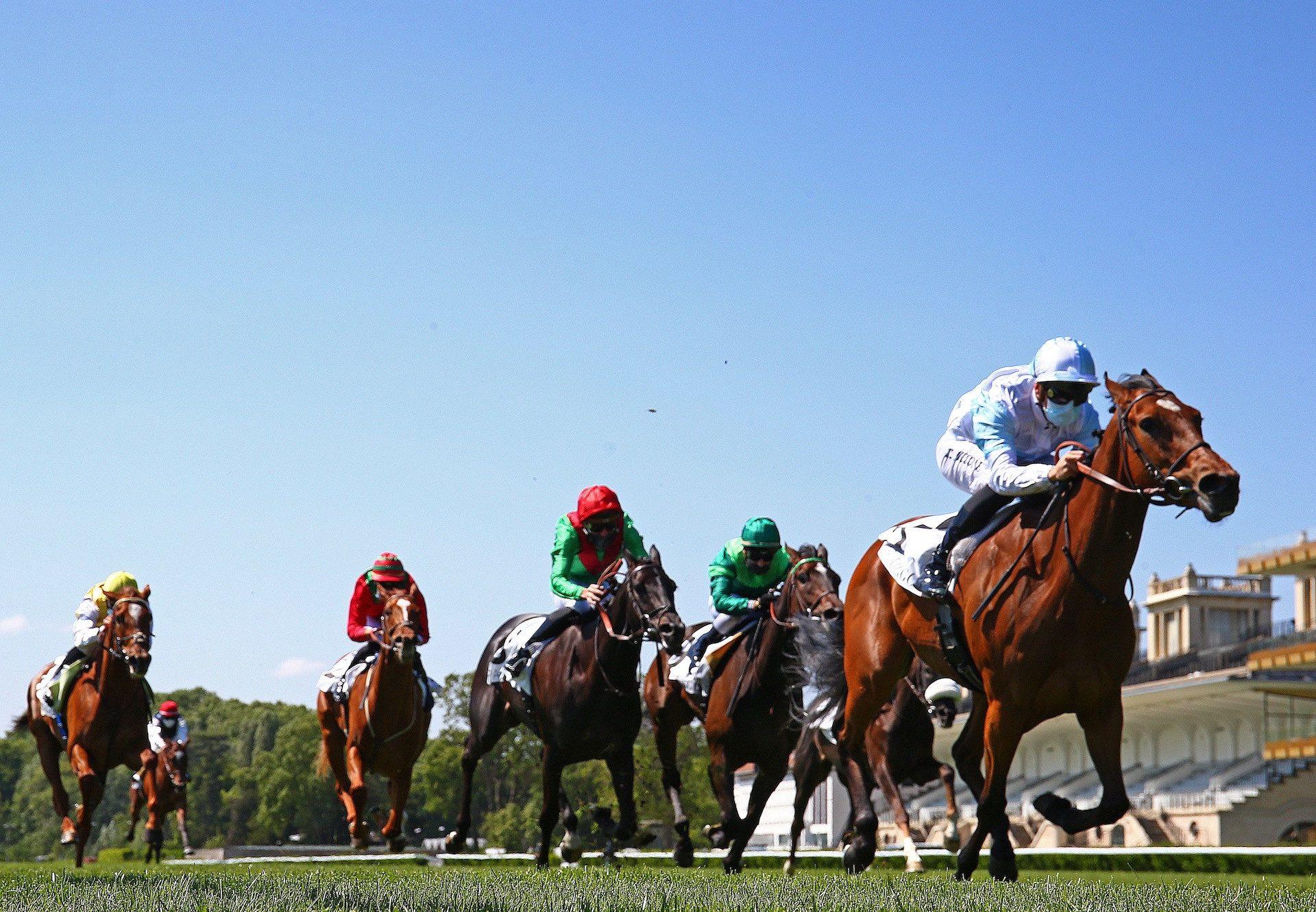 Magic Attitude (Galileo) Wins The Gr.3 Prix Vanteaux at Longchamp
