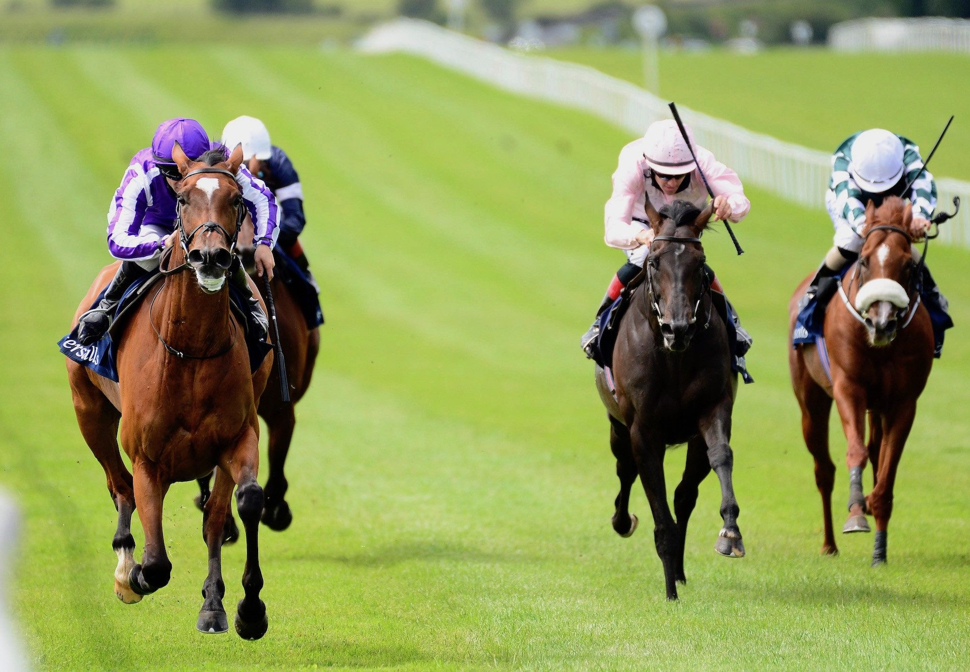 Magical (Galileo) Wins The 2020 G1 Tattersalls Gold Cup at the Curragh