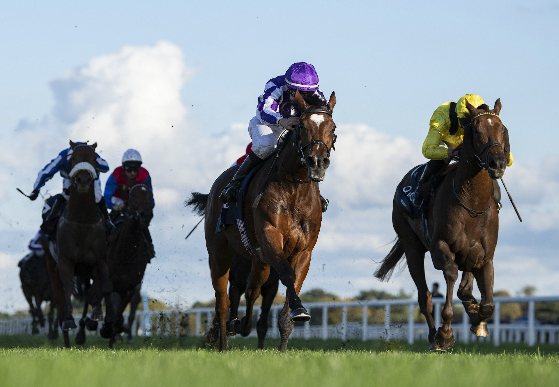 Magical (Galileo) wins the Gr.1 British Champions Stakes at Ascot