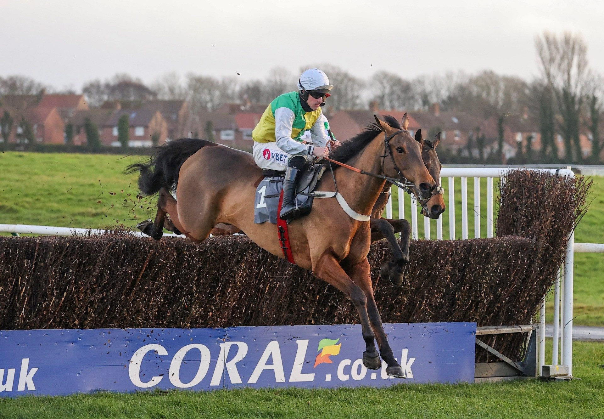 Marown Wins The Novice Chase At Ayr 1