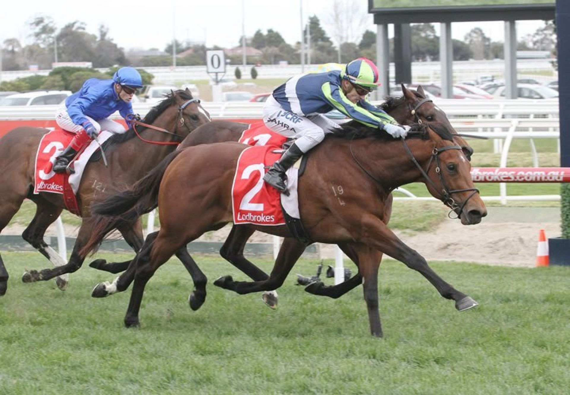 Merchant Navy winning the McNeil Stakes