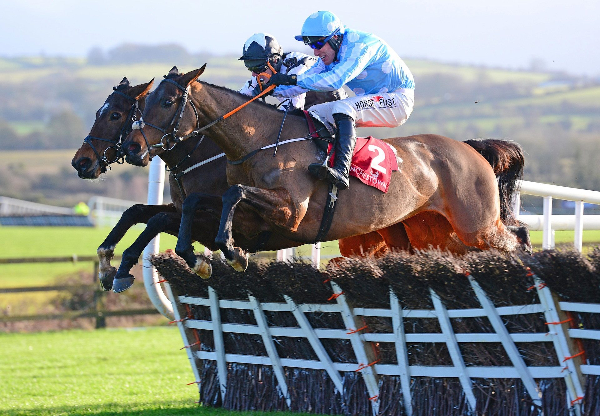 Minella Melody Wins The Listed Mares Hurdle At Punchestown