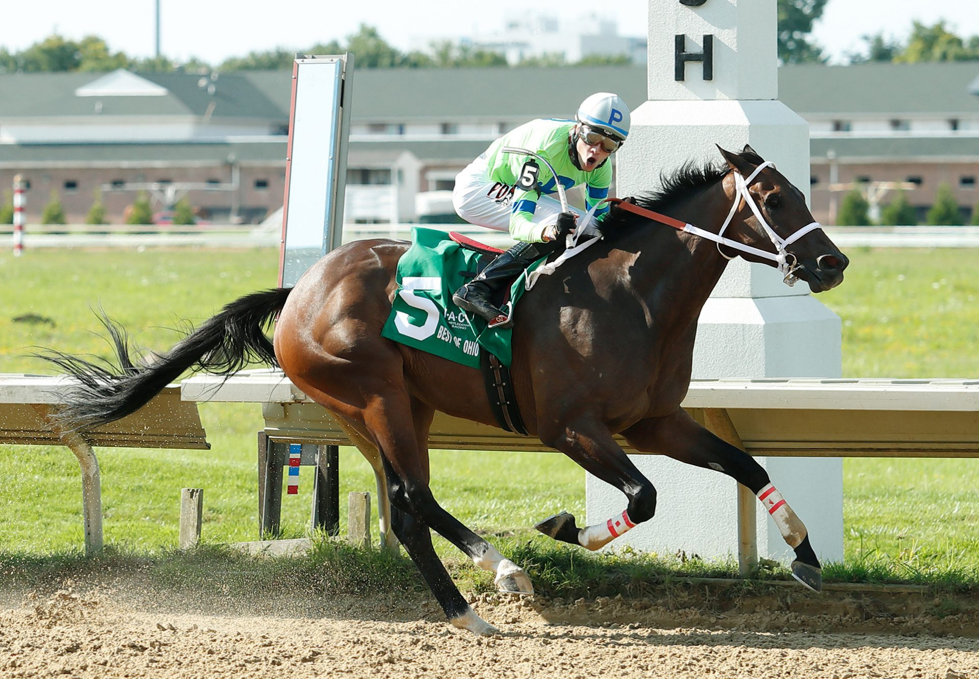 Valeria Messalina Wins The Brownstown Stakes 1