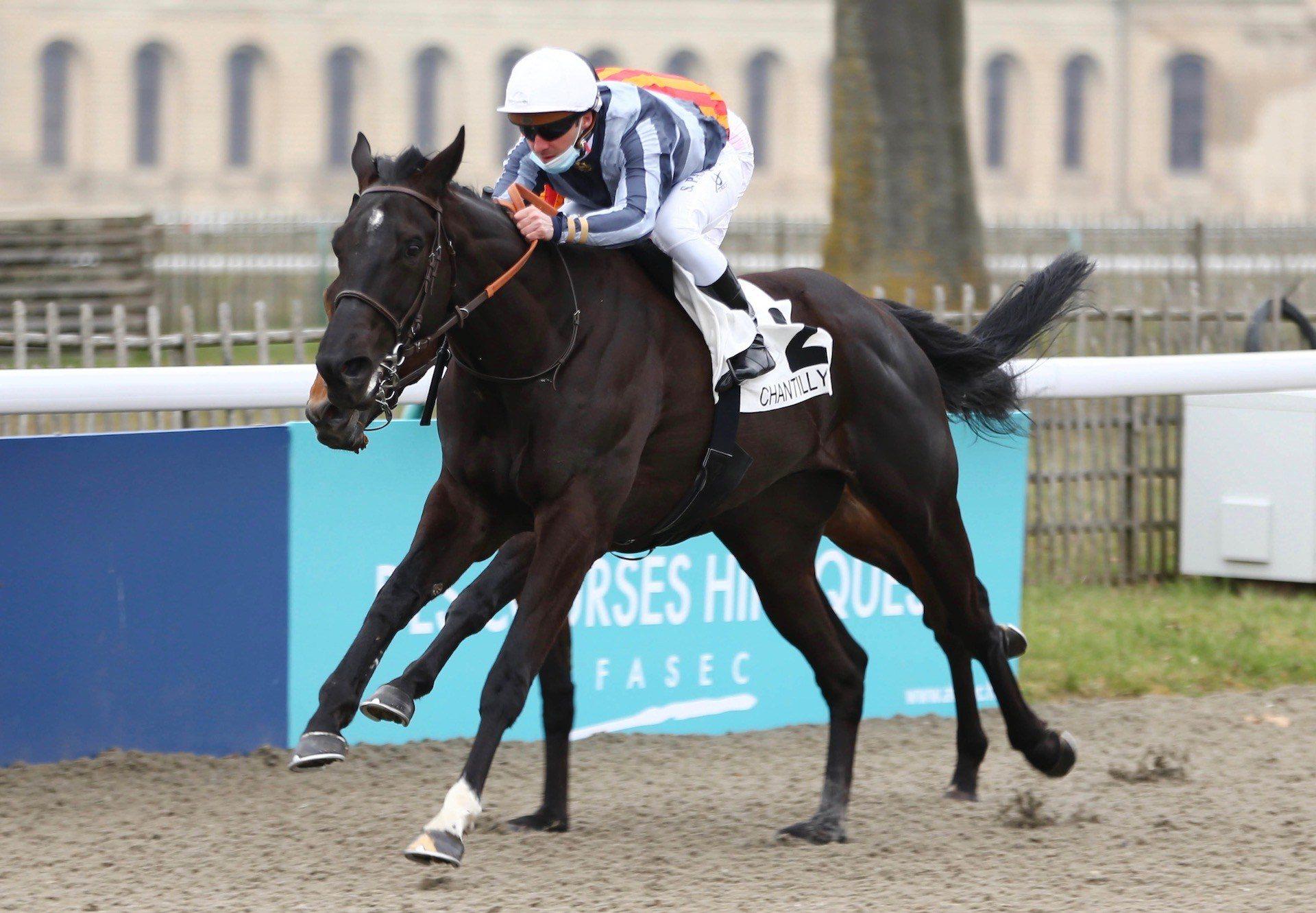 Ninth Titan (Wootton Bassett) Winning At Chantilly