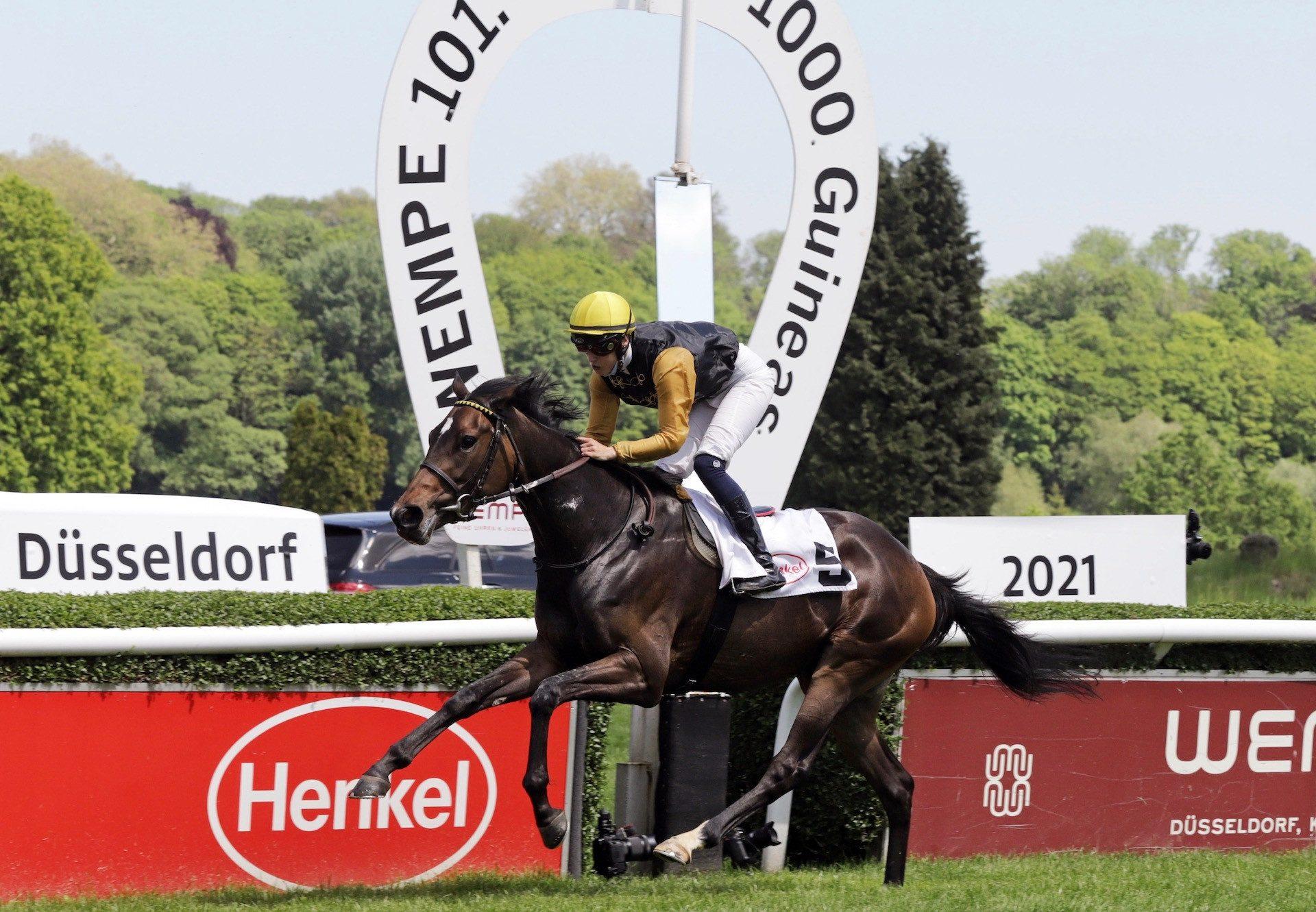 Novemba (Gleneagles) Wins The German 1000 Guineas at Dusseldorf