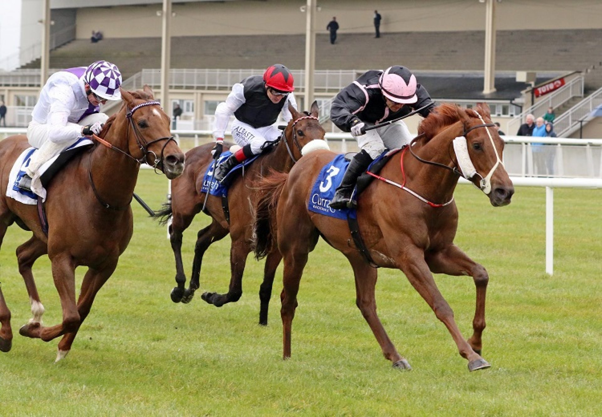 Onenightidreamed (Footstepsinthesand) winning the G3 Gladness Stakes at the Curragh