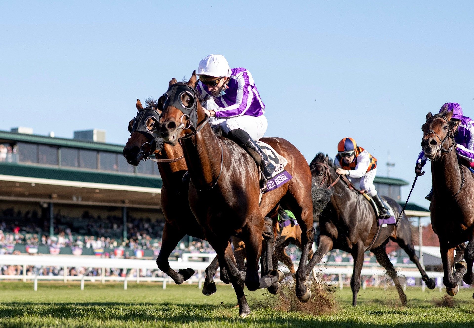 Order Of Australia (Australia) Wins The Gr.1 Breeders' Cup Mile at Keeneland