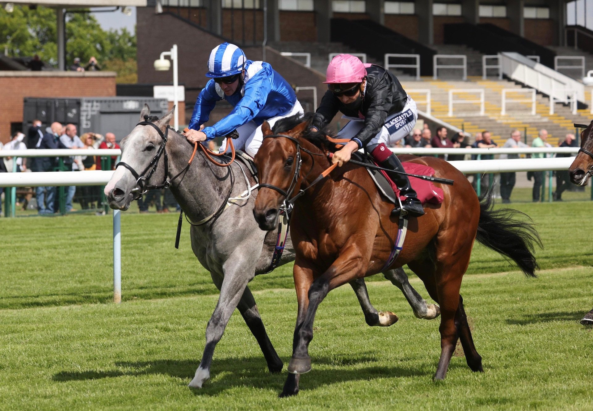 Raging (Holy Roman Emperor) Wins The Seven Sisters Novice Stakes At Haydock