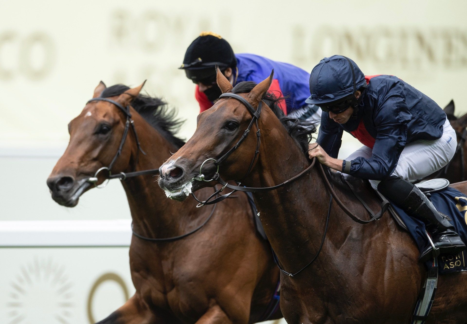 Russian Emperor (Galileo) Wins The Gr.3 Hampton Court Stakes at Royal Ascot