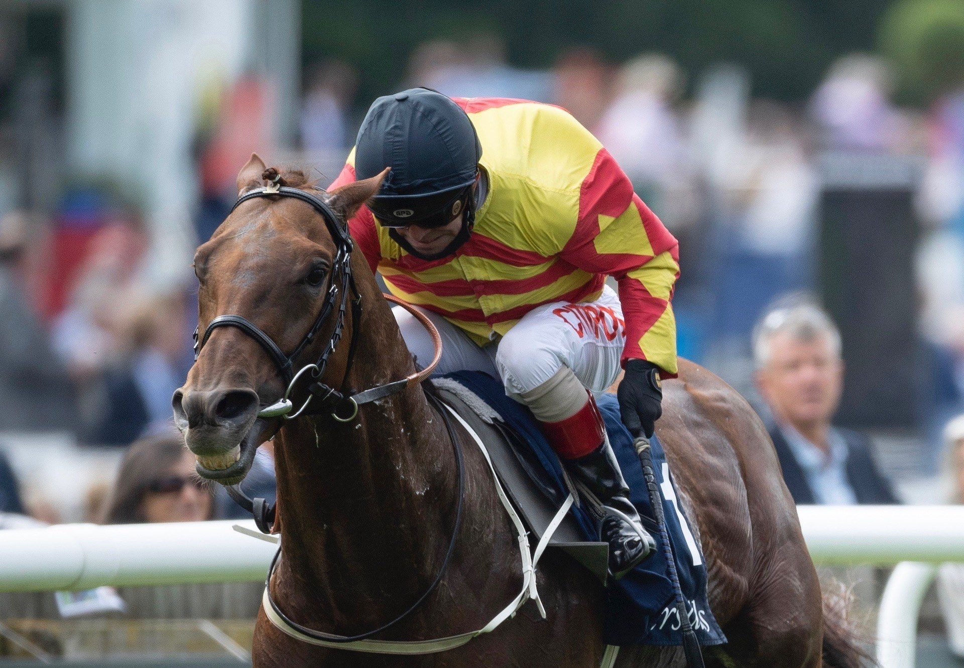 Sir Ron Priestley (Australia) Wins The Group 2 Princess Of Wales's Tattersalls Stakes at Newmarket