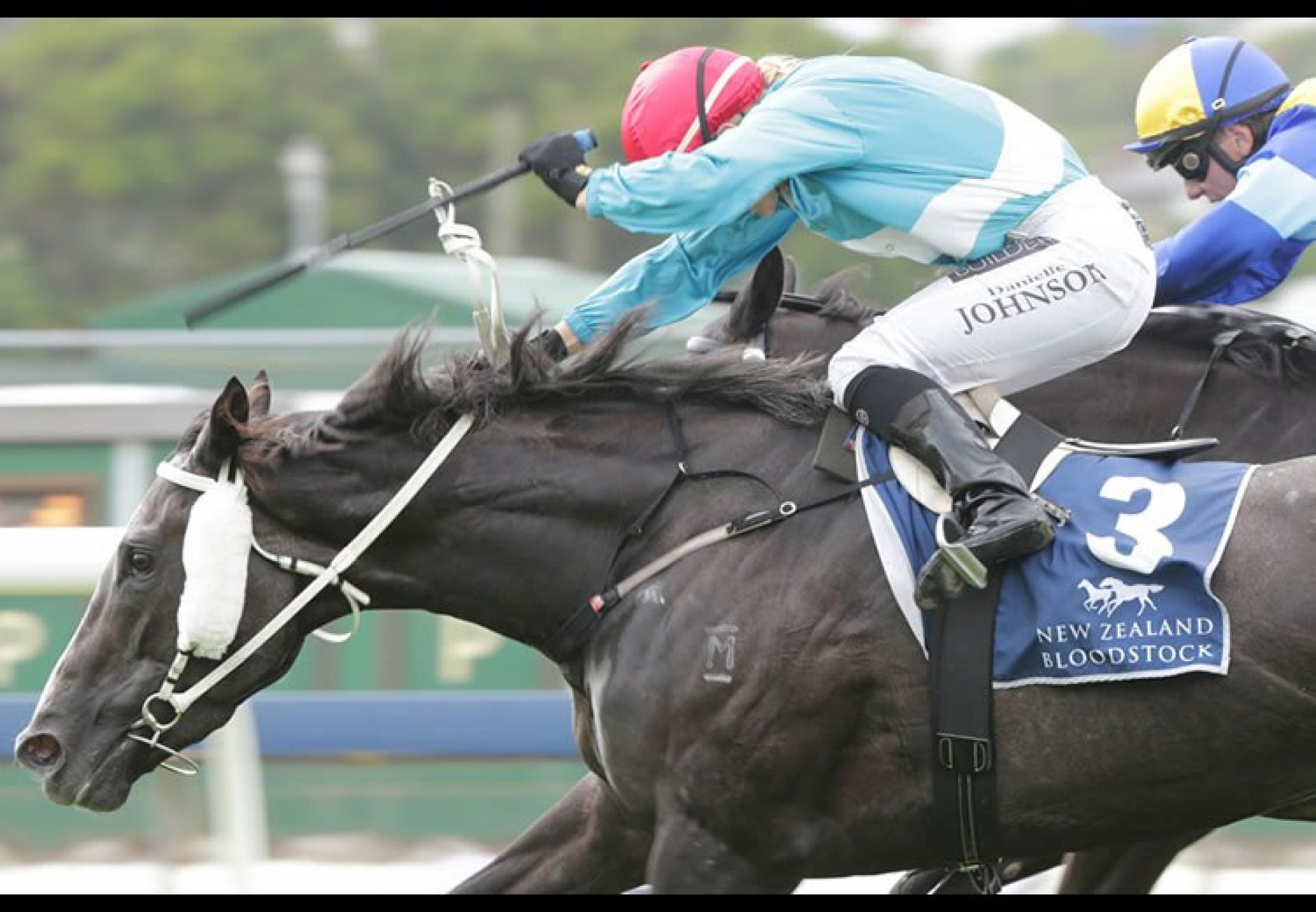 Thee Auld Floozie (Mastercraftsman) winning the G3 Sunline Classic at Ellerslie