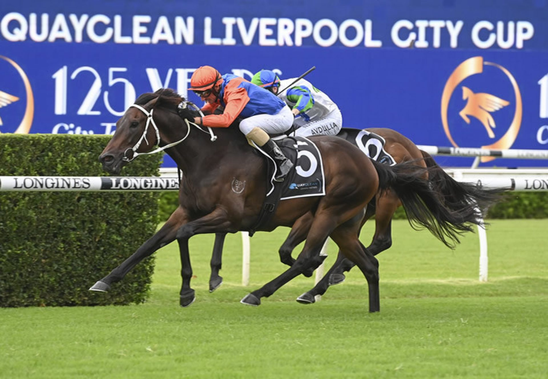 Think It Over (So You Think) wins the Gr.3 Liverpool City Cup at Randwick