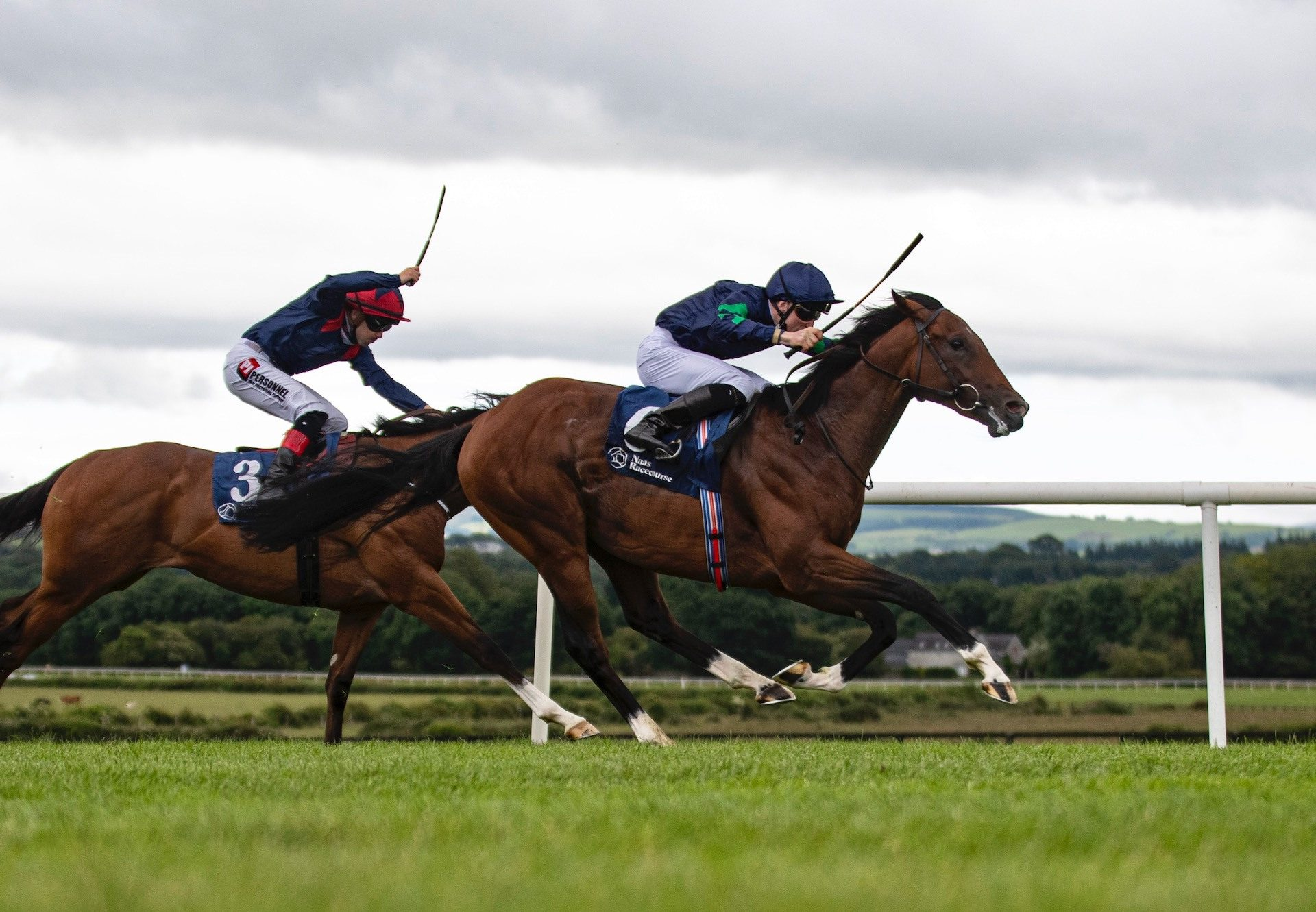 Unconquerable (Churchill) Wins His Maiden At Naas