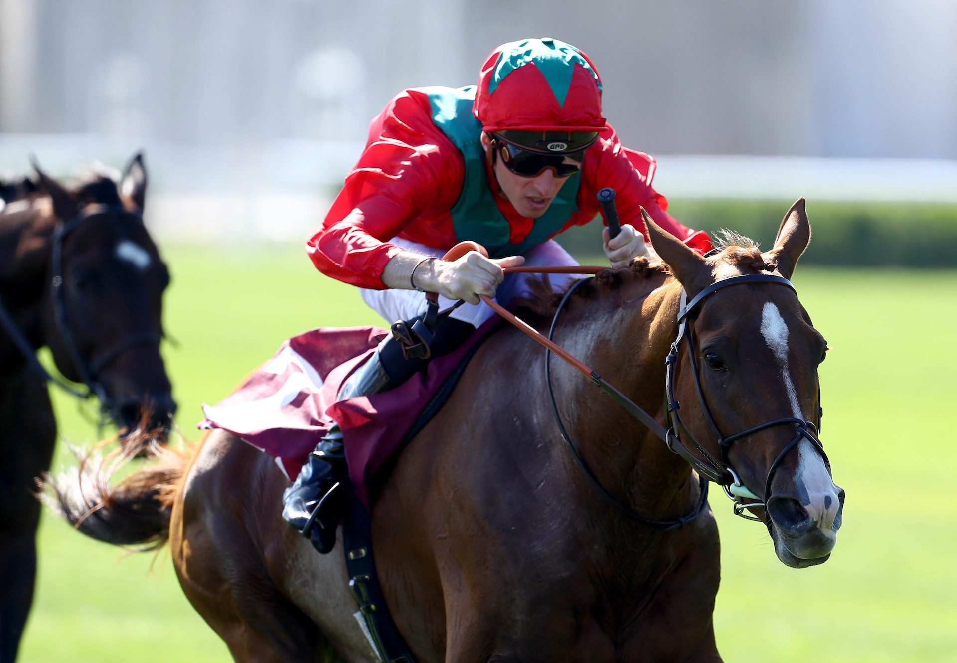Waldgeist (Galileo) Wins The Gr.2 Prix Foy at Longchamp