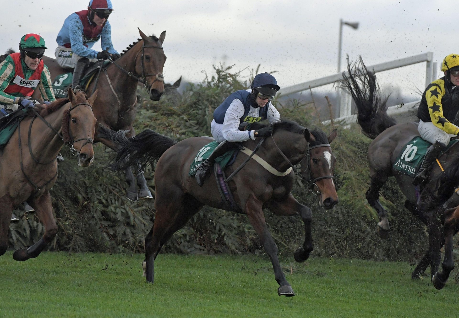 Walk In The Mill (Walk In The Park) Captures The Becher Chase At Aintree