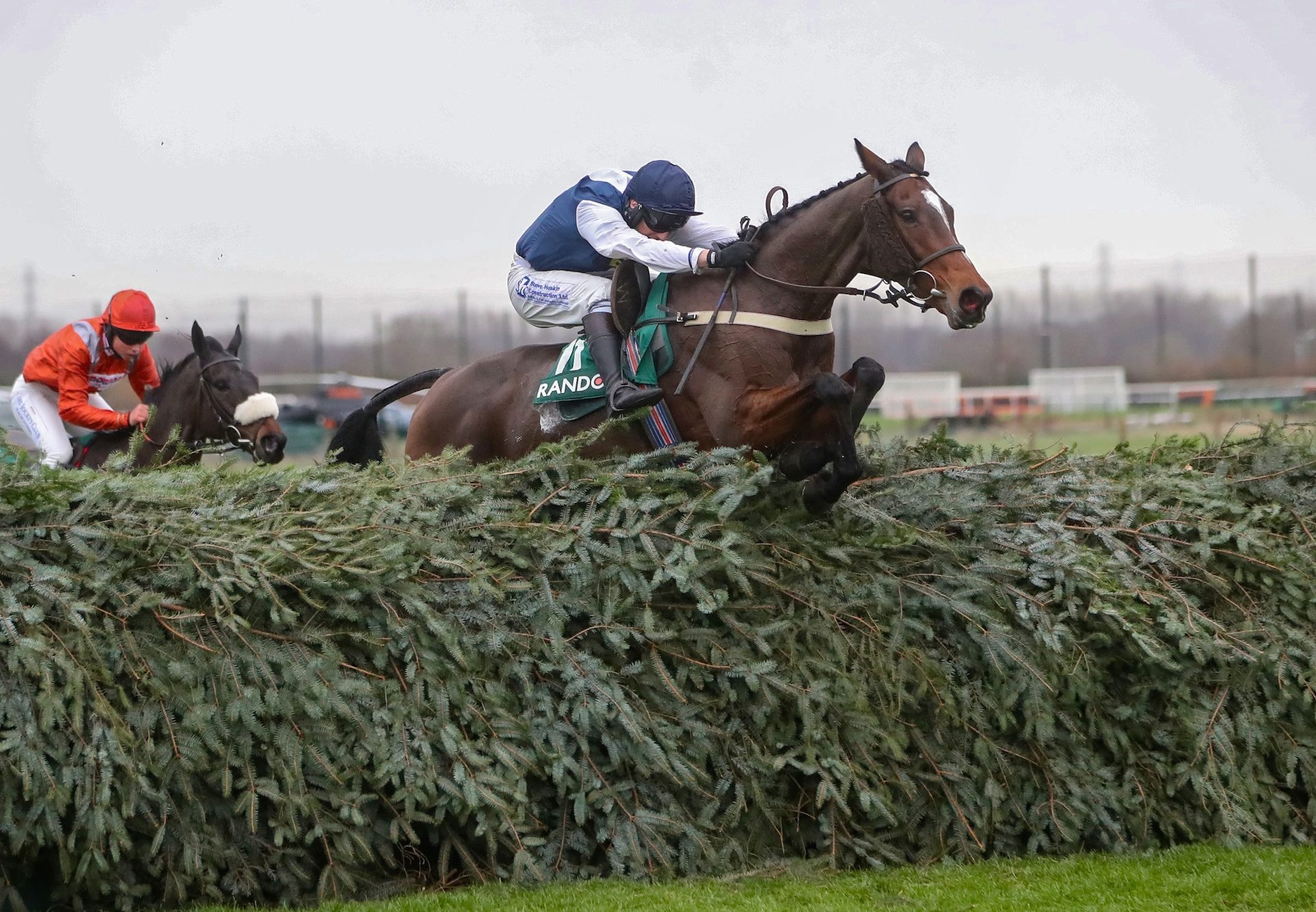 Walk In The Mill (Walk In The Park) winning the Gr.3 Becher Handicap Chase at Aintree