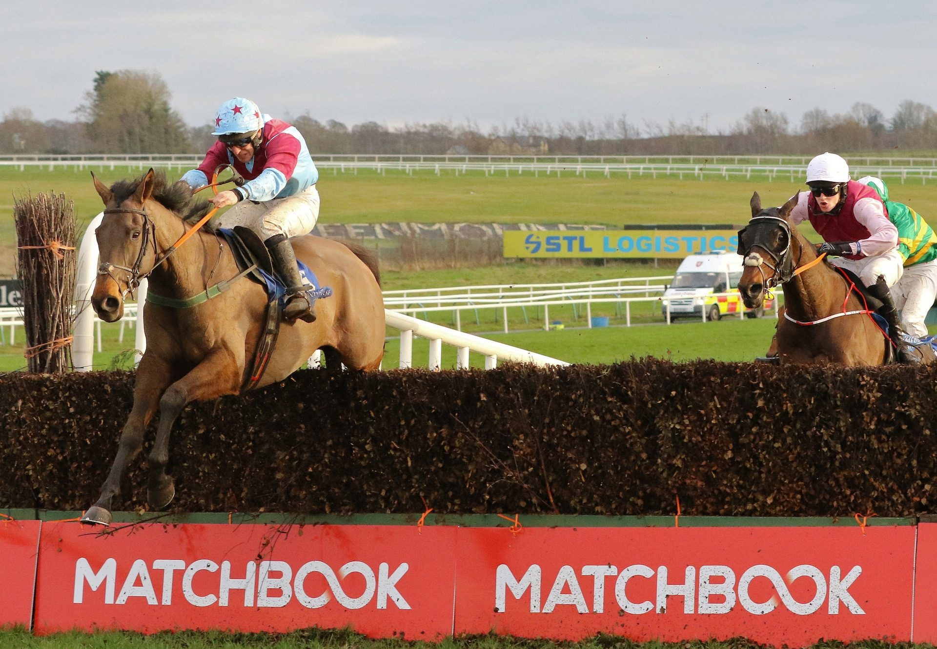 Westerner Point (Westerner) Wins The Grade B Feature Chase At Limerick