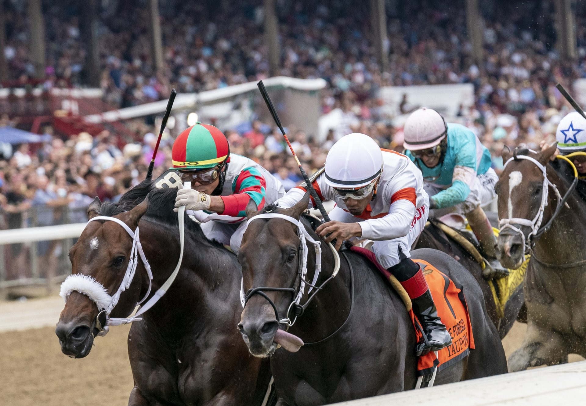 Yaupon (Uncle Mo) Wins G1 Forego Stakes at Saratoga