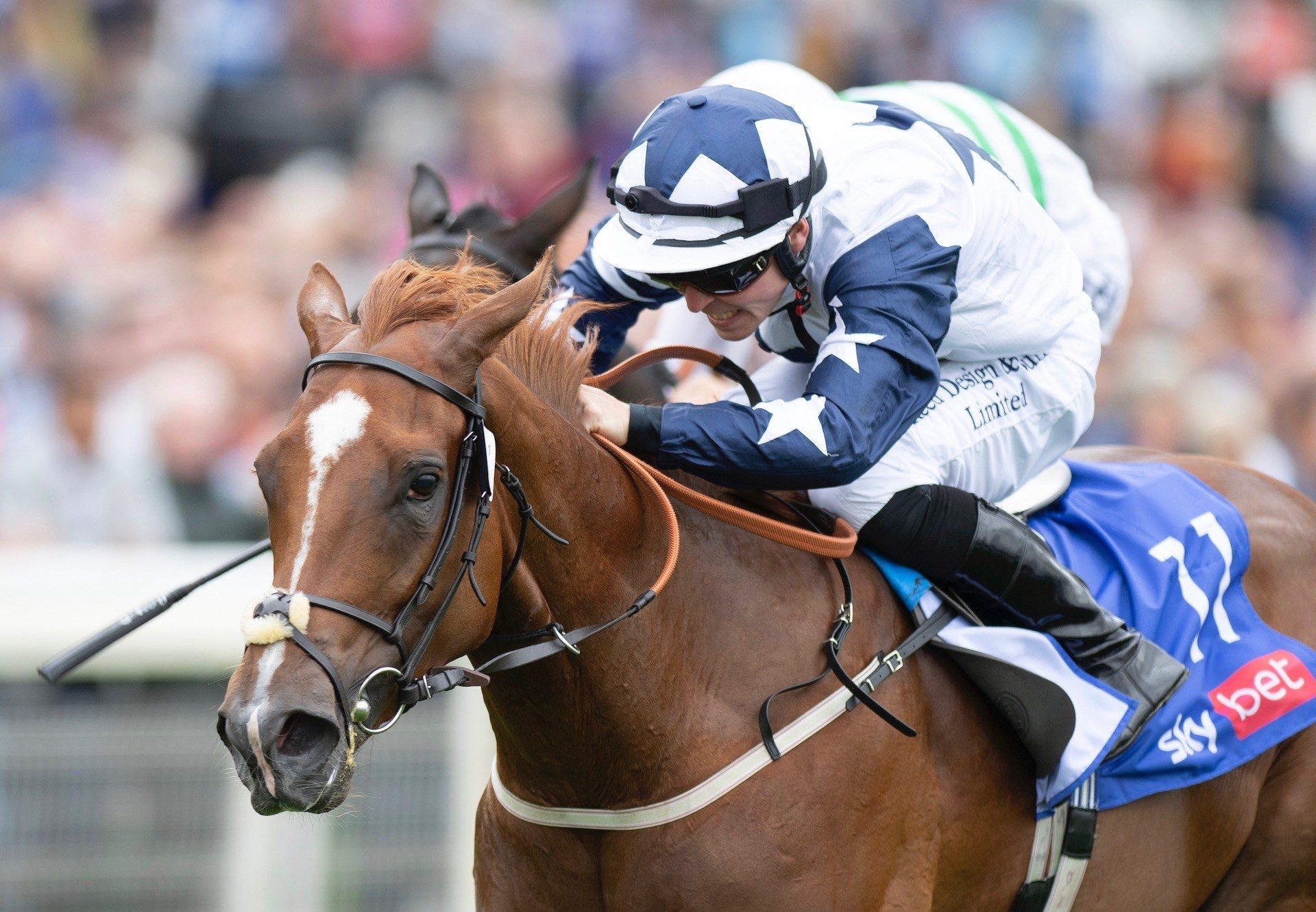Zain Claudette (No Nay Never) Lands The Group 2 Lowther Stakes at York