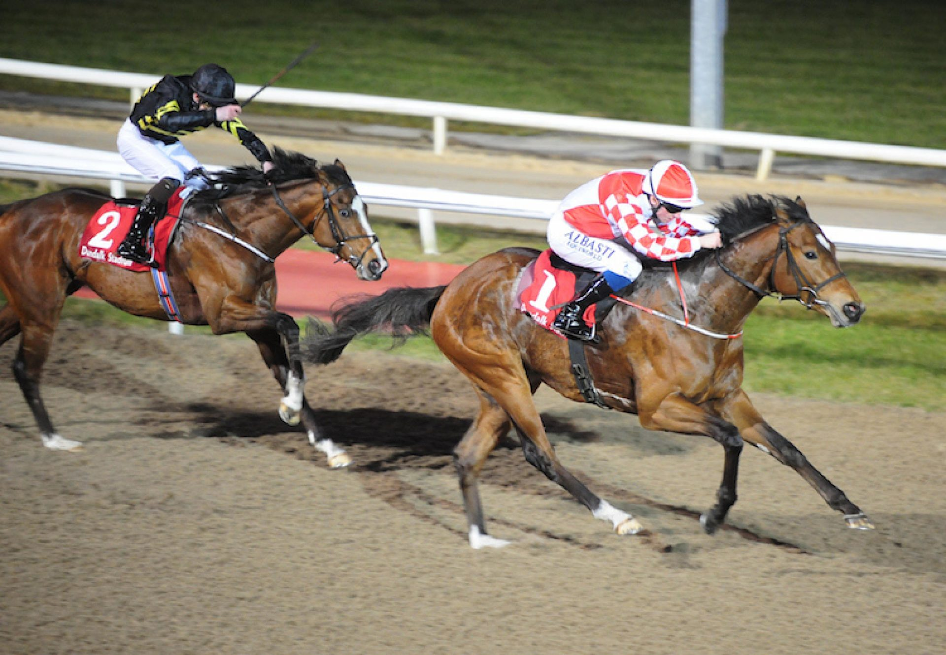 Zihba (Choisir) winning at Dundalk