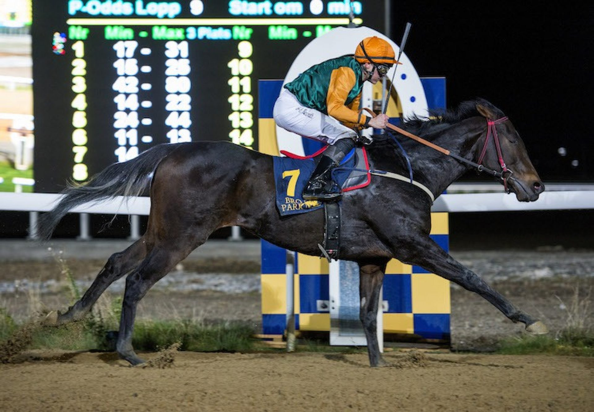 Bokan (Soldier Of Fortune) winning at Bro Park