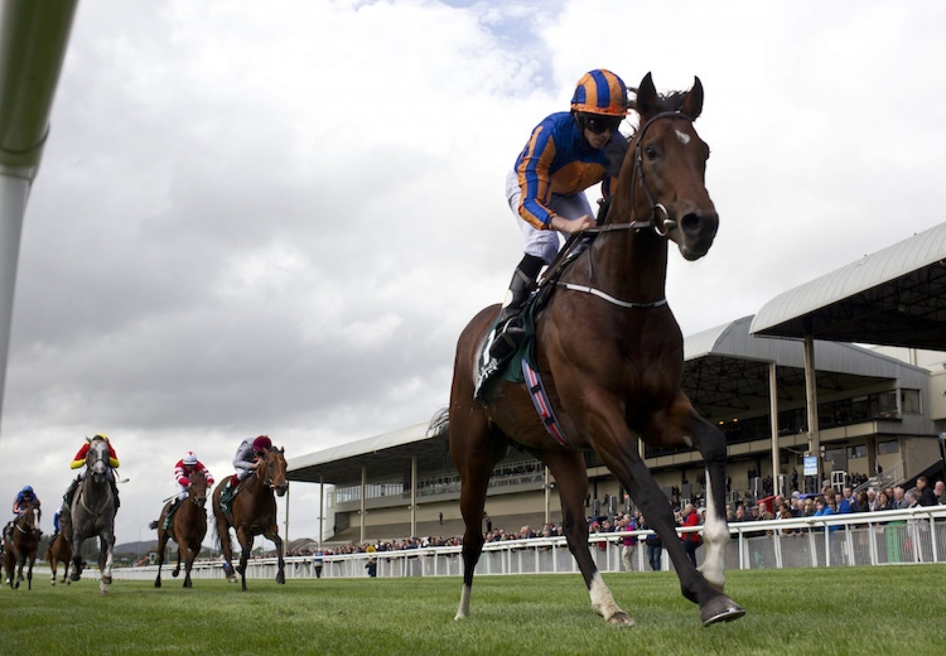 Churchill winning the G1 National Stakes at the Curragh