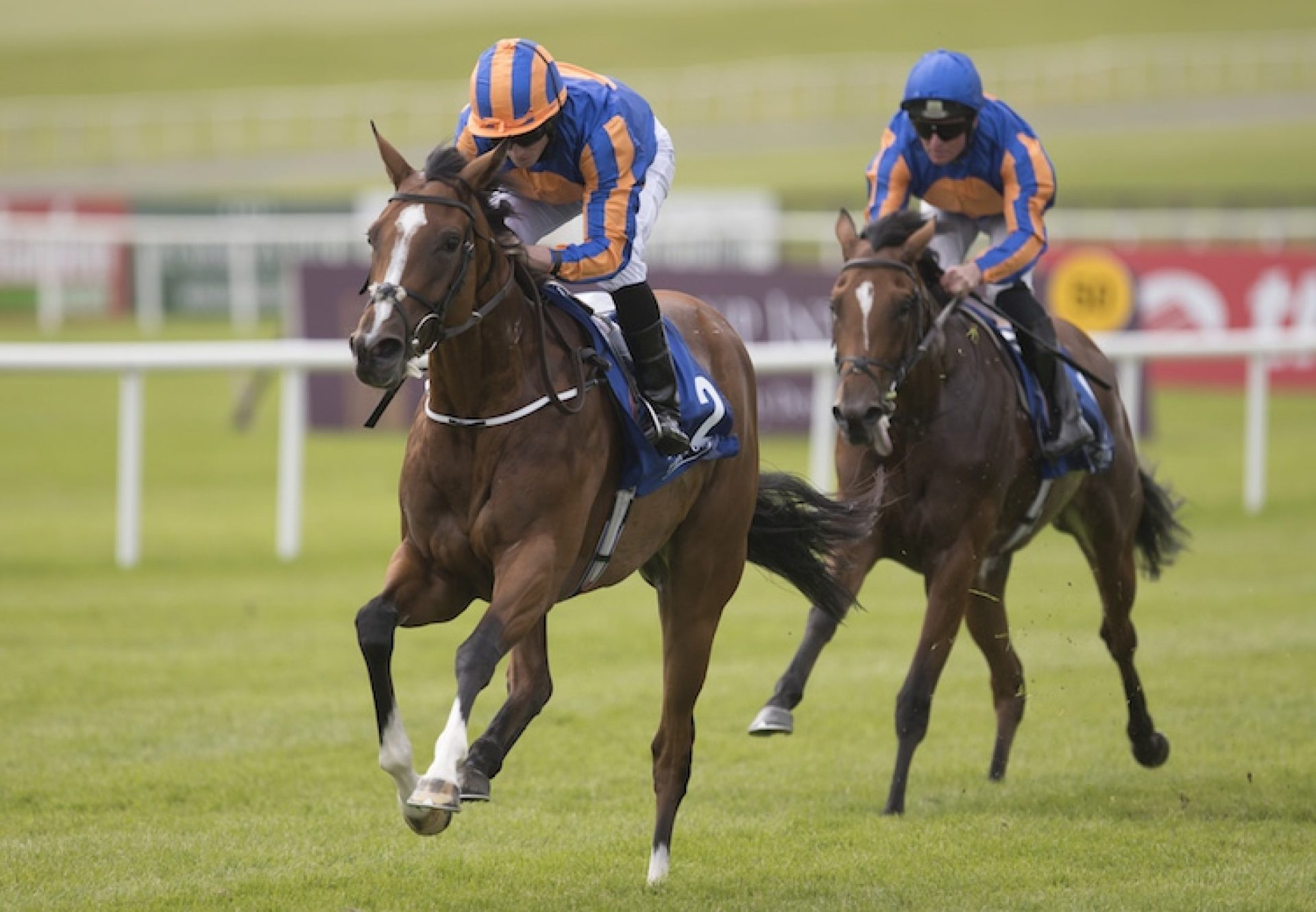 Clemmie (Galileo) winning the G3 Grangecon Stud Stakes at the Curragh