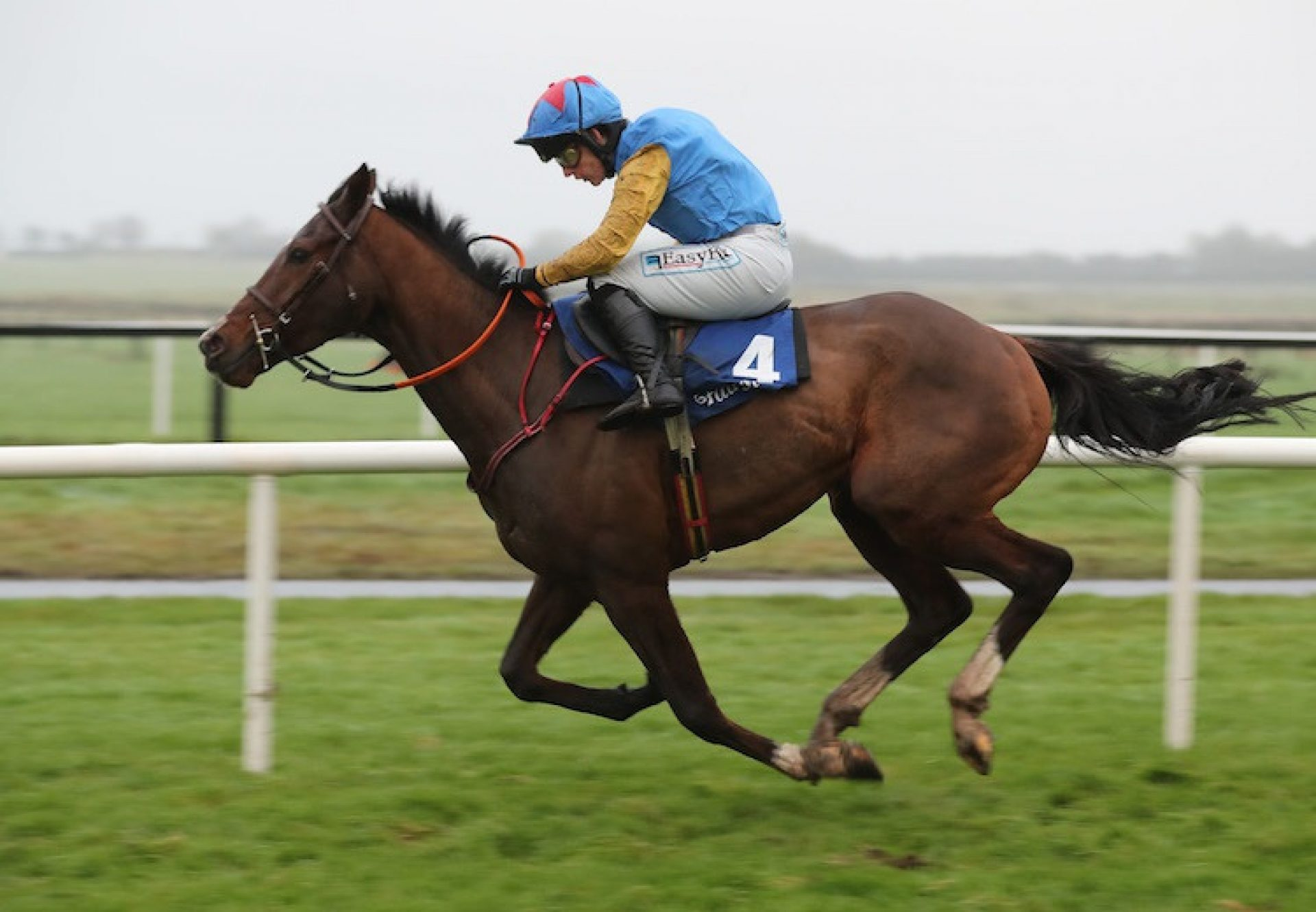 Downtown Getaway (Getaway) winning a bumper at Fairyhouse