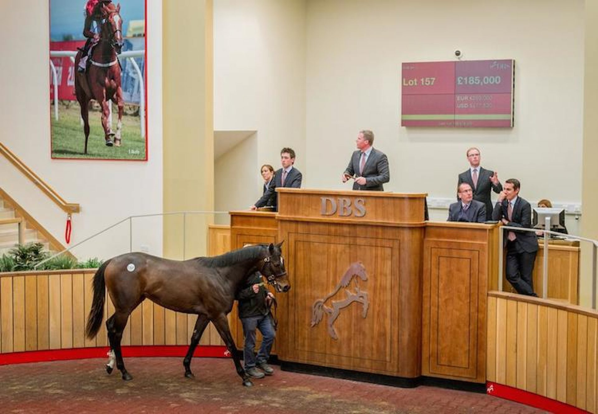 Footstepsinthesand ex Notting Hill colt selling as £185,000 at the Doncaster Breeze Up Sales