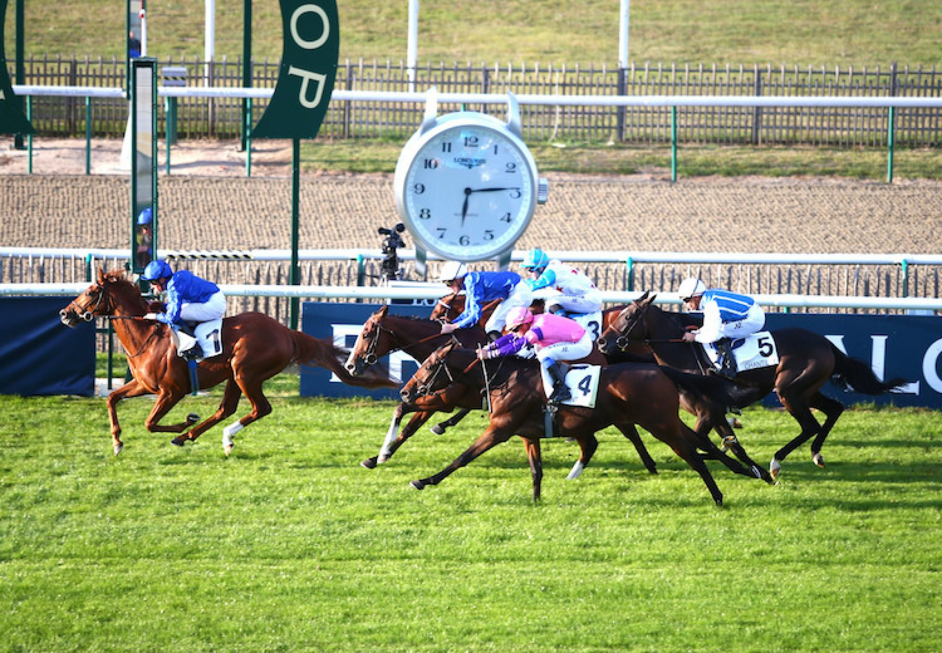 Line Of Duty (Galileo) winning the G3 Prix de Conde at Chantilly