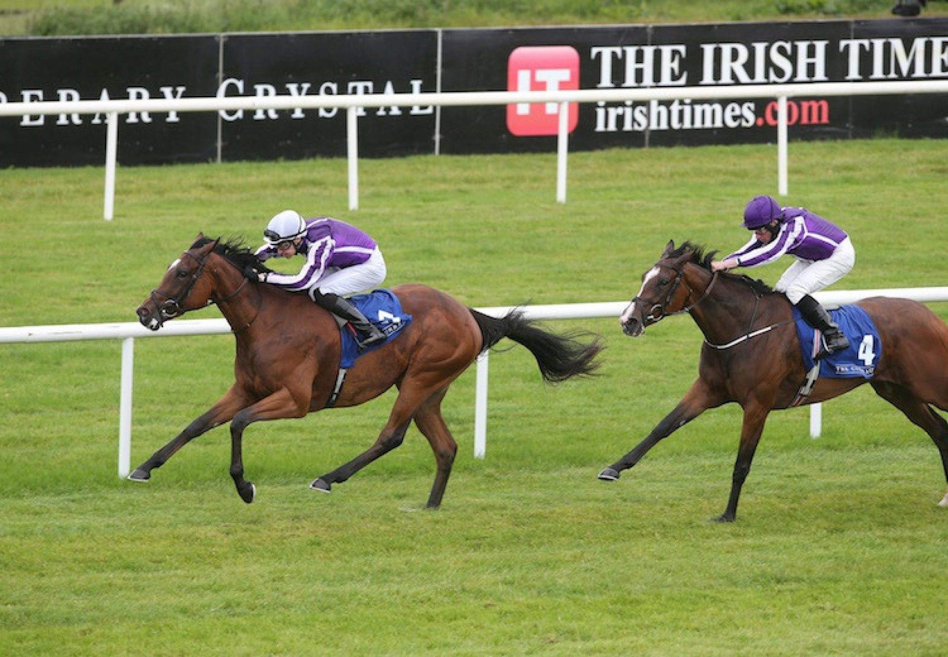 Magical (Galileo) winning the G2 Debutante Stakes at the Curragh
