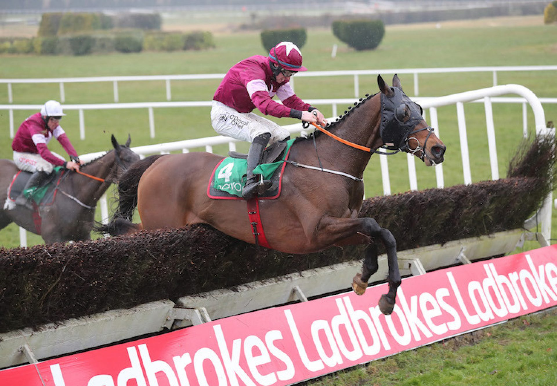 Monbeg Notorious (Milan) winning the G2 Ten Up Novice Chase at Navan