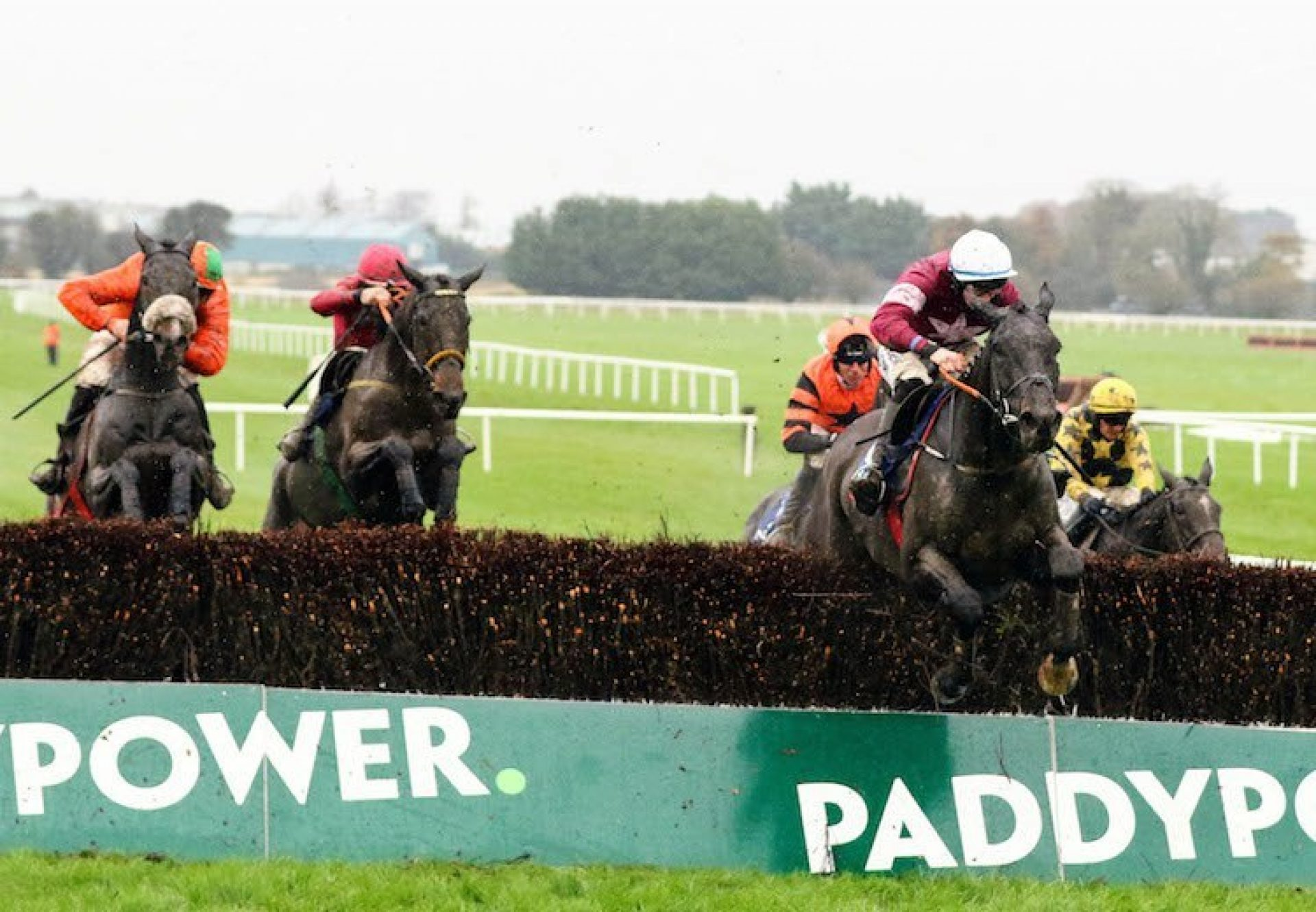 Mossback (Yeats) winning a beginners chase at Naas