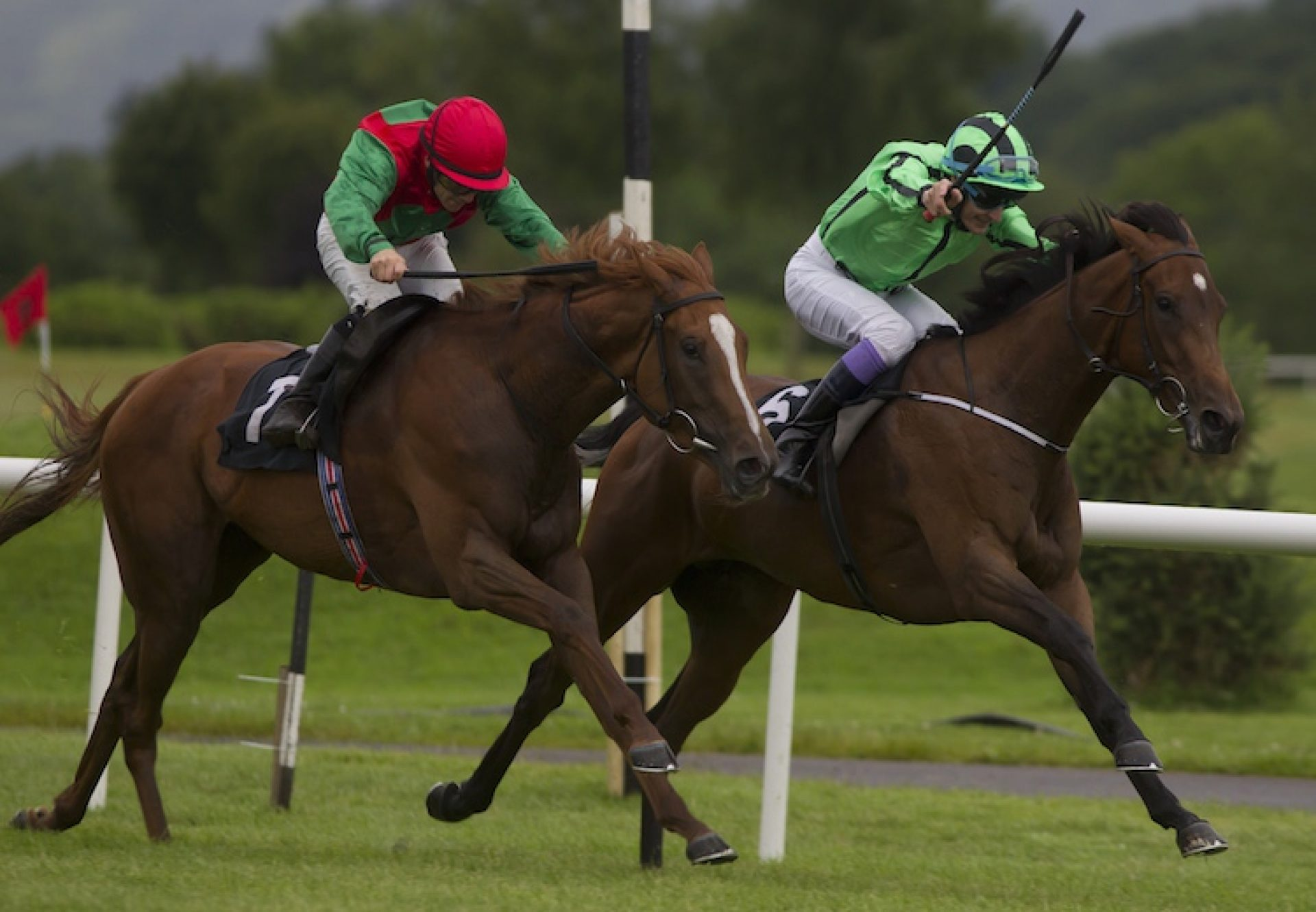 Off Limits (Mastercraftsman) winning the Listed Cairn Rouge Stakes at Killarney