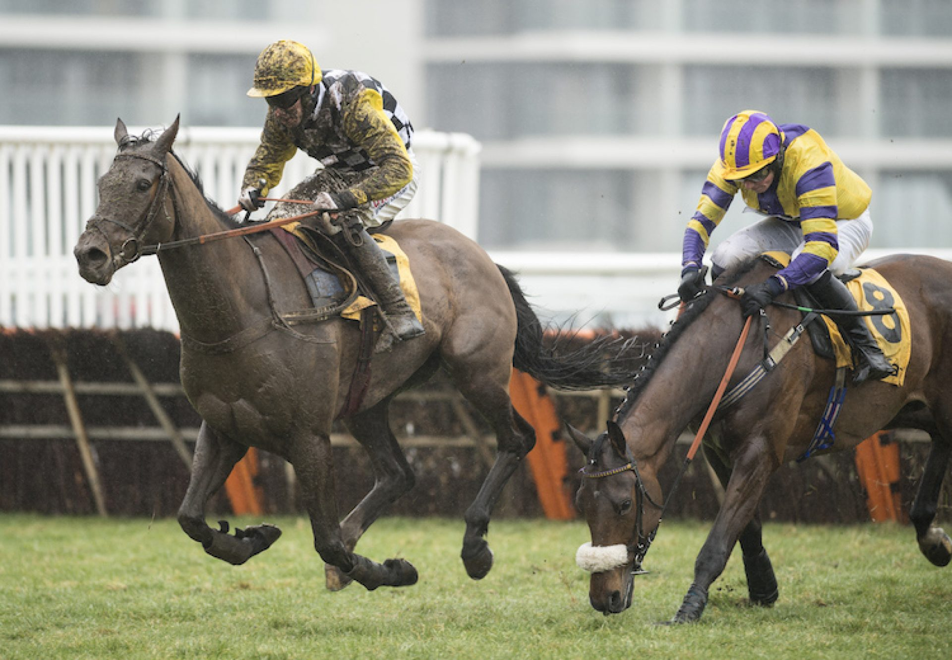 Talkischeap (Getaway) winning over hurdles at Newbury