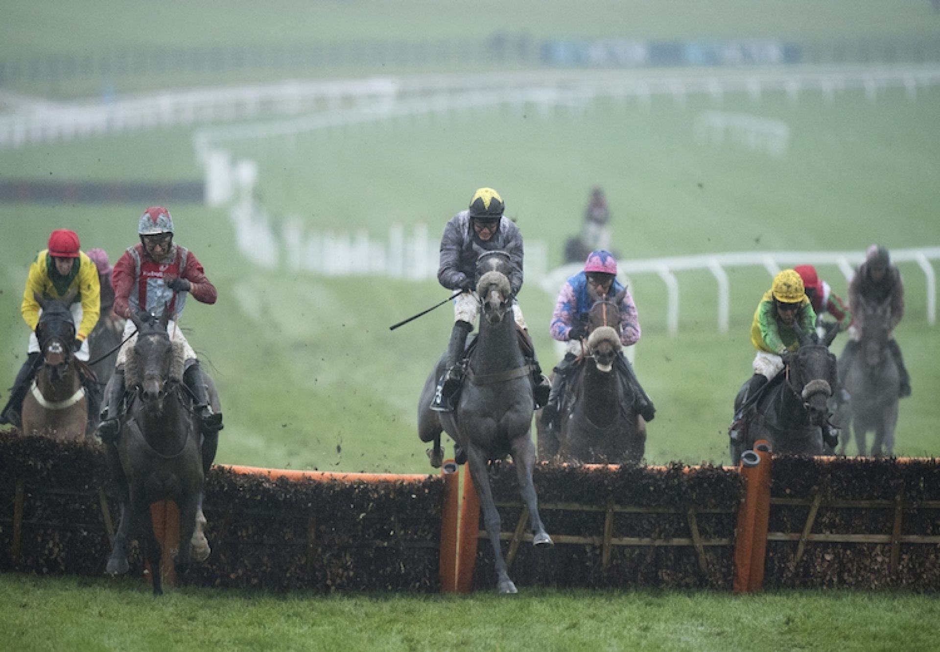 Thomas Campbell (Yeats) winning a Listed hurdle at Cheltenham