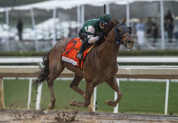 Accelerate (Lookin At Lucky) Winning The G1 Santa Anita Handicap