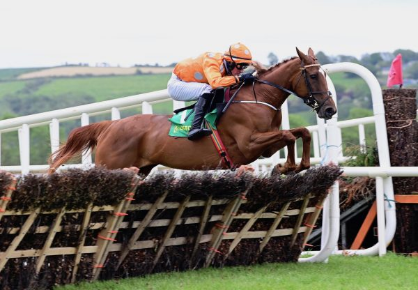 Annie G (Getaway) Races Clear In The Mares Maiden Hurdle At Listowel
