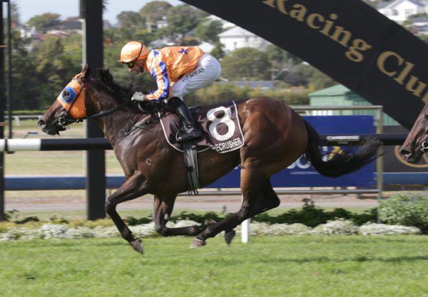 Avantage (Fastnet Rock) winning the Gr.1 New Zealand Stakes at Ellerslie