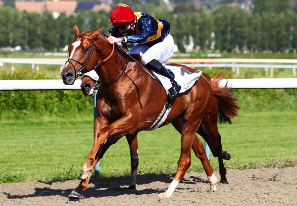 Bring On The Night (Gleneagles) winning at Deauville