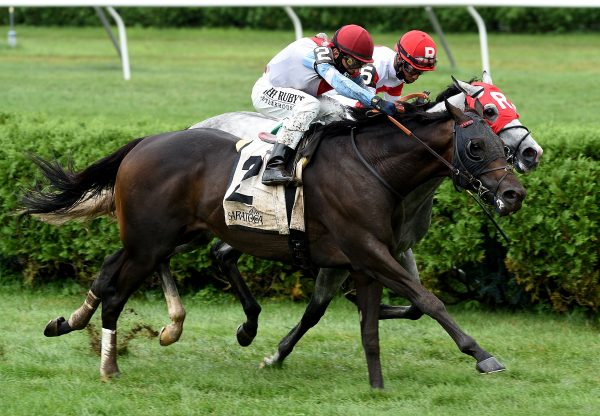 Bye Bye Melvin (Uncle Mo) wins the Gr.3 Saranac At Saratoga