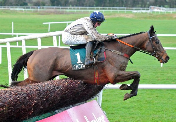 Captain Cj (Westerner) Wins The Grade 2 Novice Chase At Navan