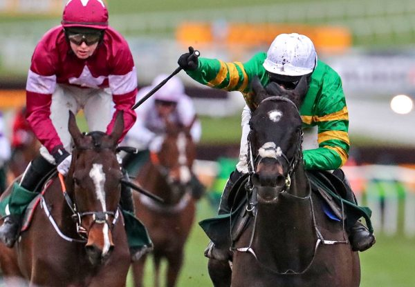 Early Doors (Soldier Of Fortune) Wins The Martin Pipe Hurdle At Cheltenham